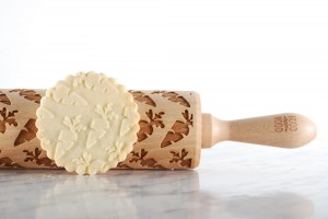 CARROTS - embossing rolling pin