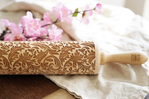 BAROQUE - embossing rolling pin