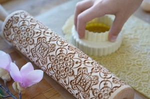 LACE - embossing rolling pin